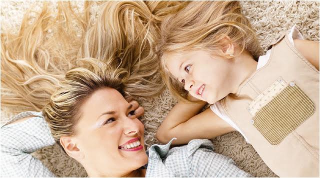 Når mor og barn nyder det gode indeklima